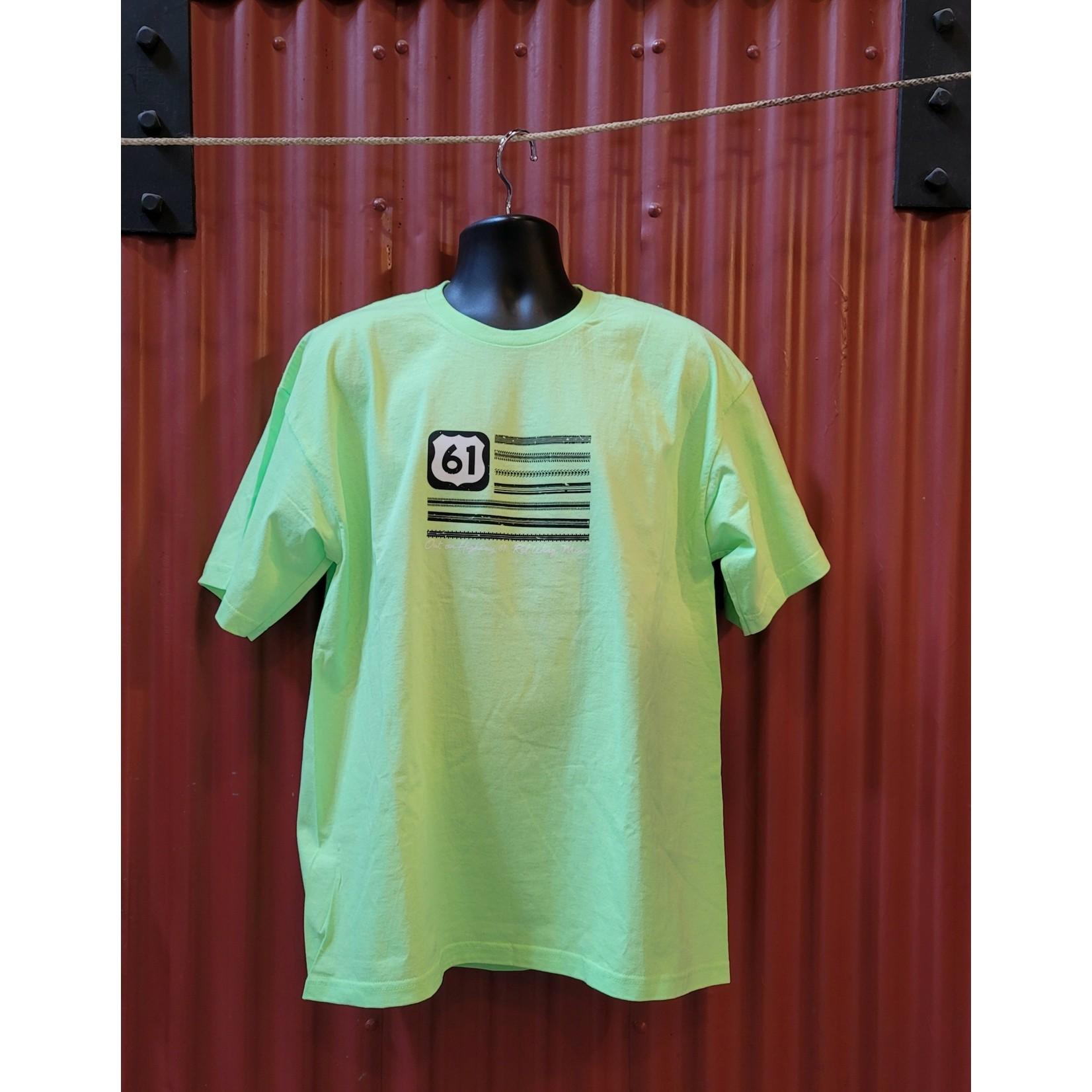 Bordertown Highway 61 Tread T Shirt