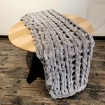 American Heritage Textiles Chenille Chunky Knit Throw