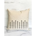 Scandinavian Nordic Trees Throw Pillow