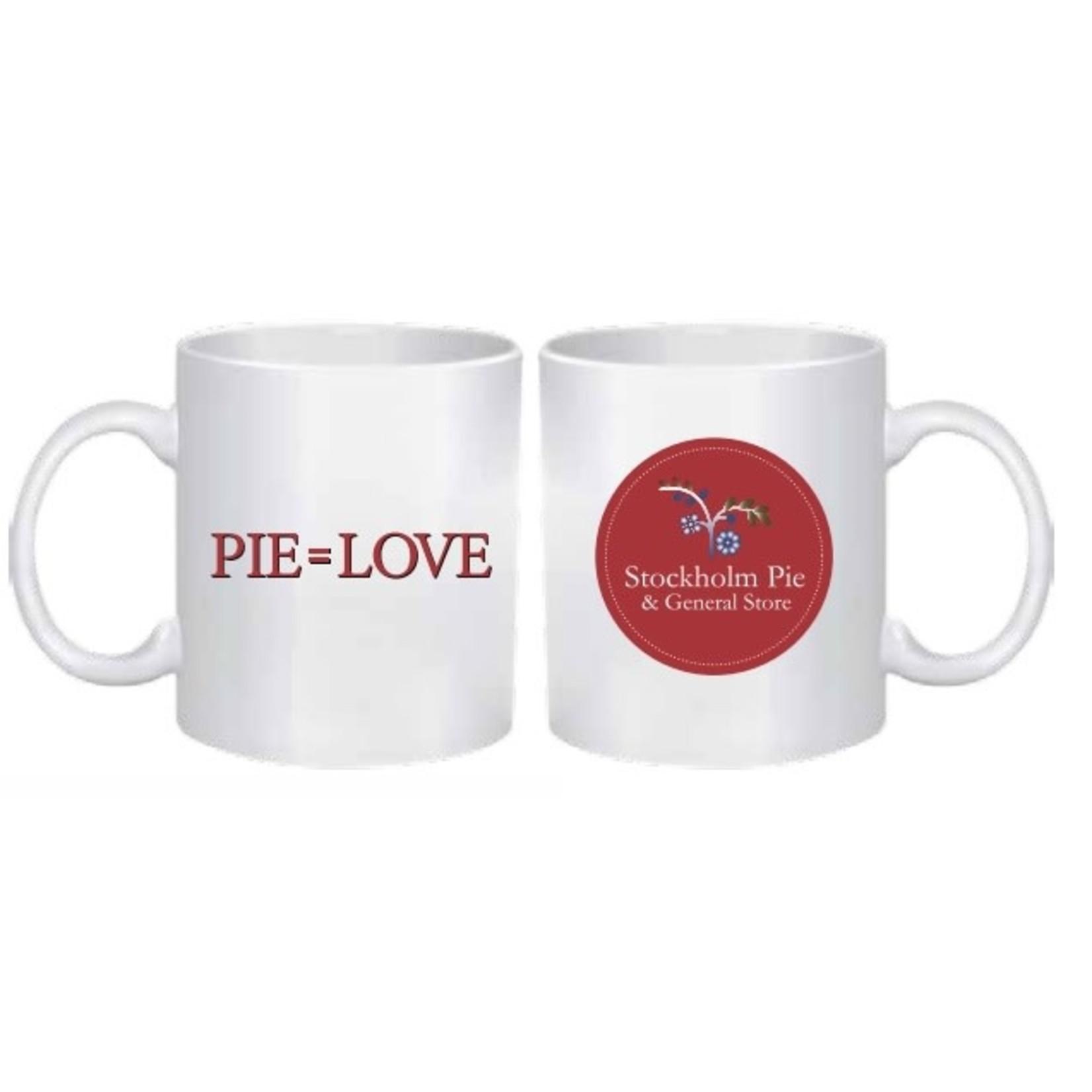 Private Label Stockholm & Pie Logo Mug
