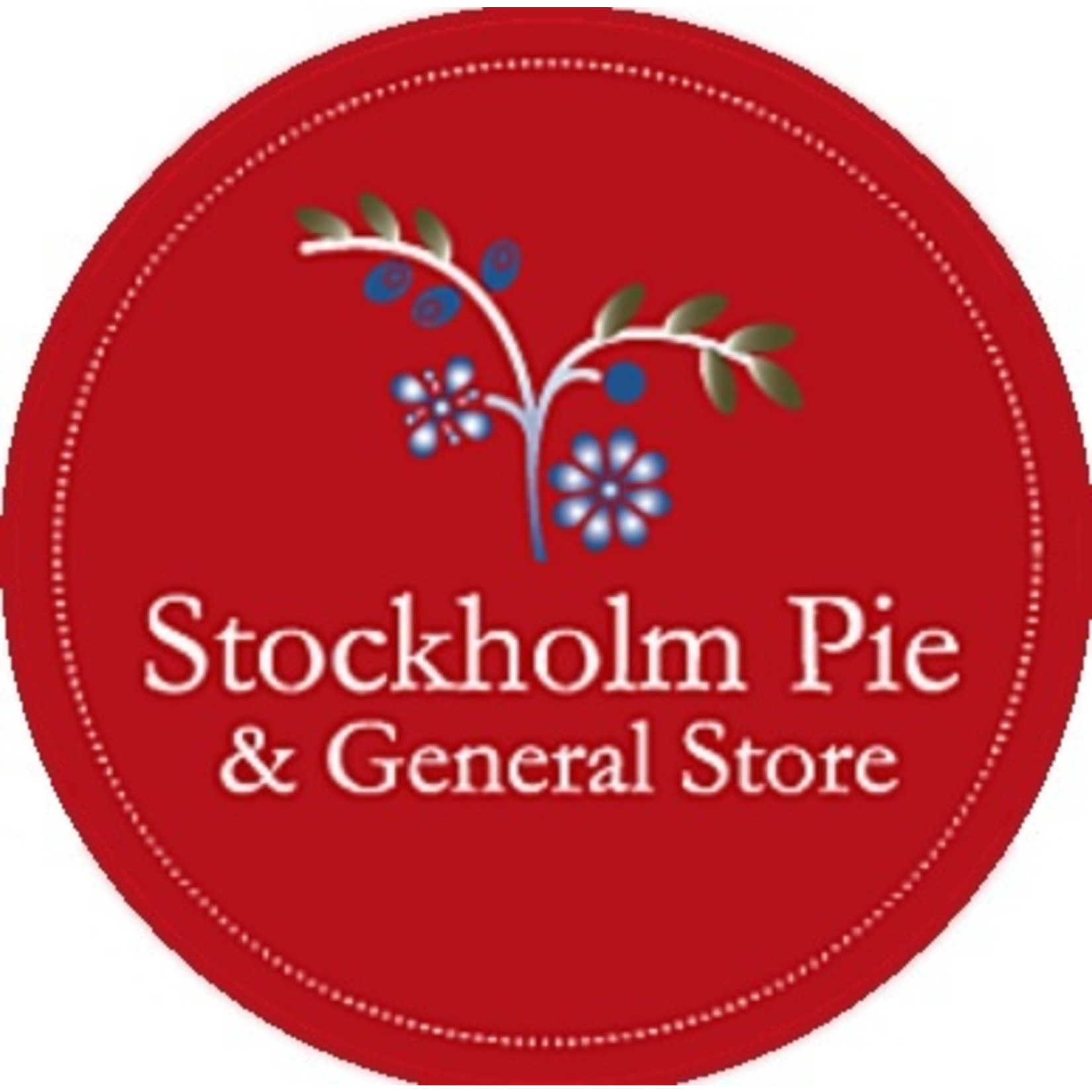 Private Label Stockholm Pie & General Sticker