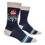 Blue Q Olympic Long Sleeper - M - Crew Socks