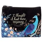 Blue Q More Money Coin Purse