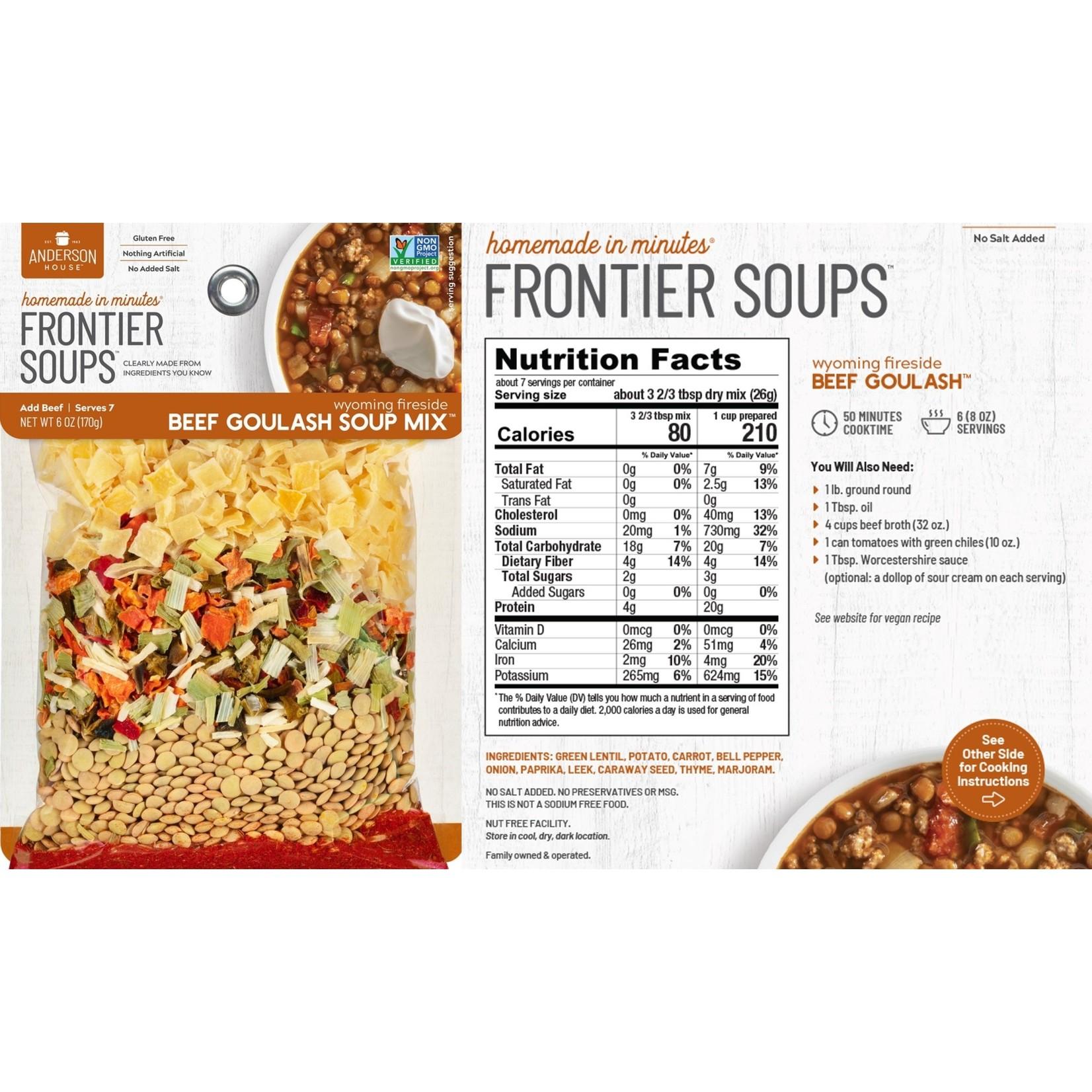 Frontier Soup Frontier Soups -