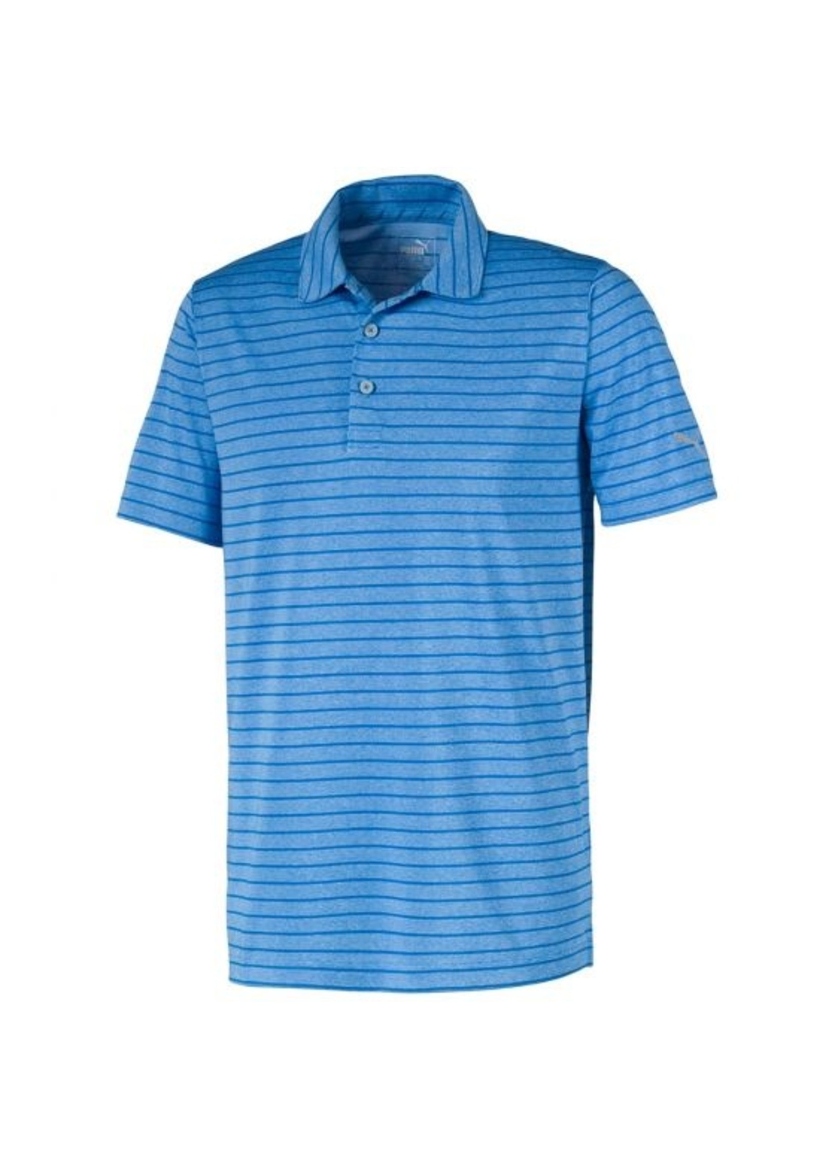 PUMA KINGSWELL GLEN Rotation Stripe Golf Shirt Mens