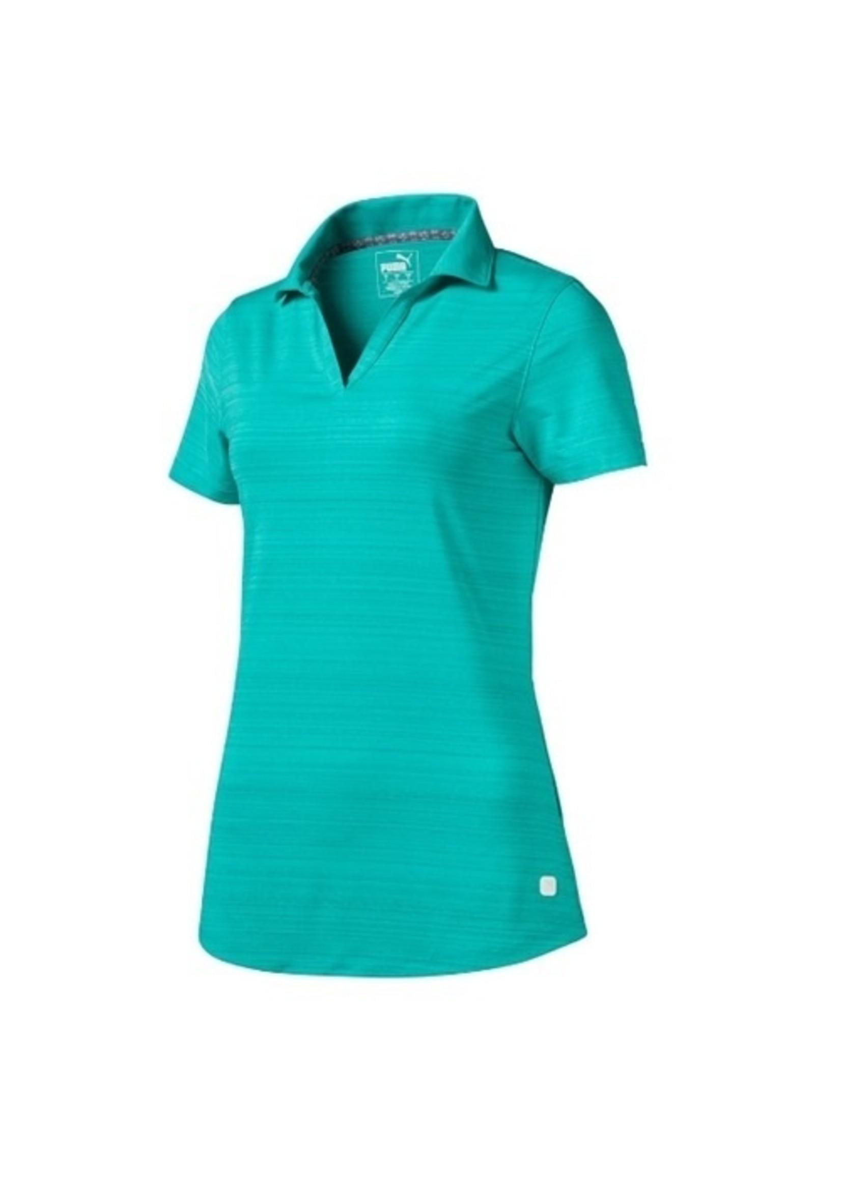 PUMA KINGSWELL GLEN Coastal Polo Golf Shirt Womens