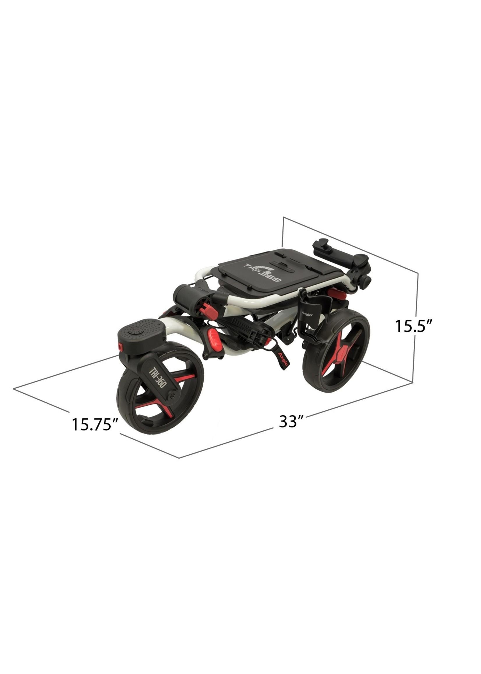 AXGLO TRI-360 Golf Push Cart