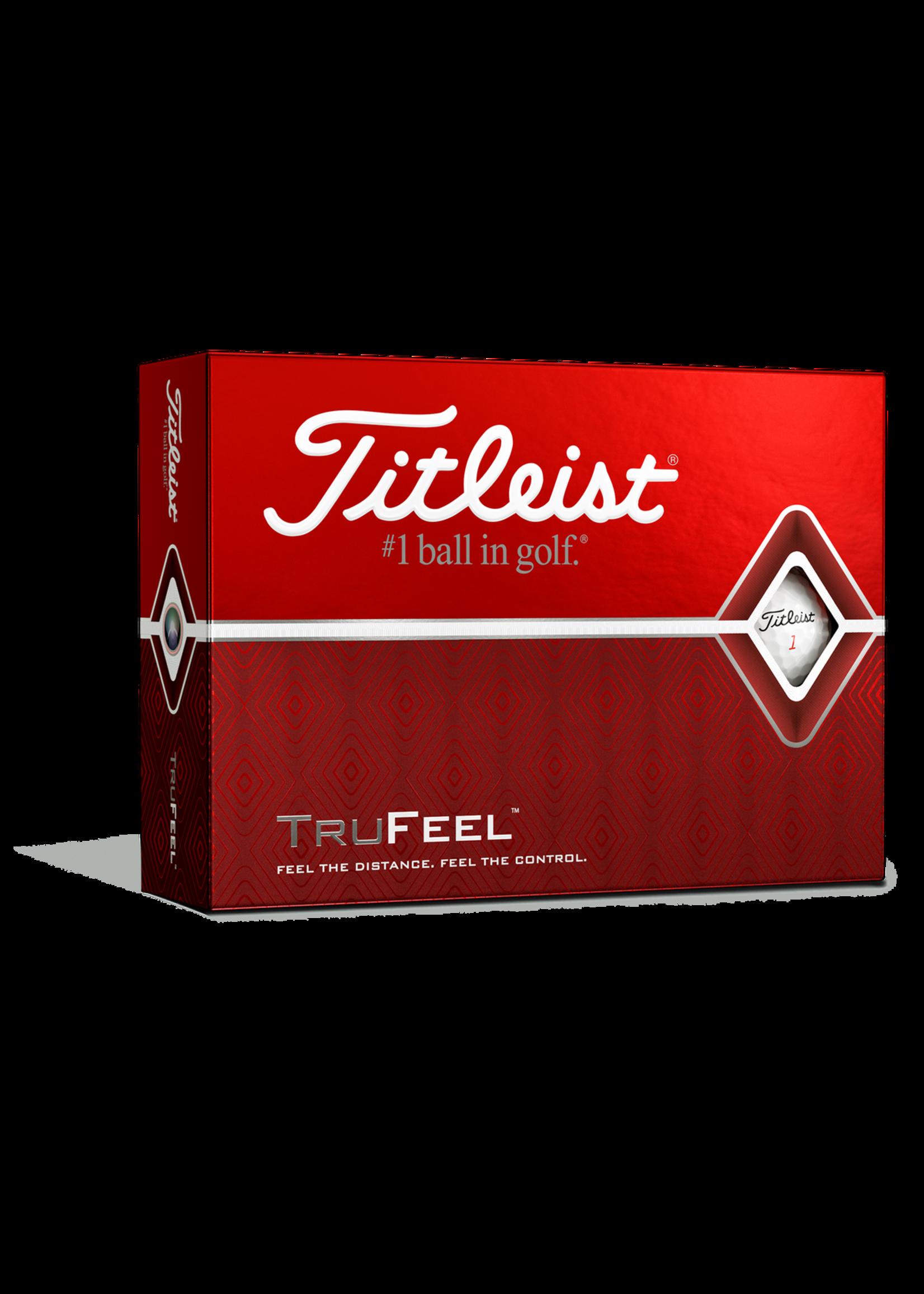 TITLEIST TRU FEEL GOLF BALLS (Dozen)