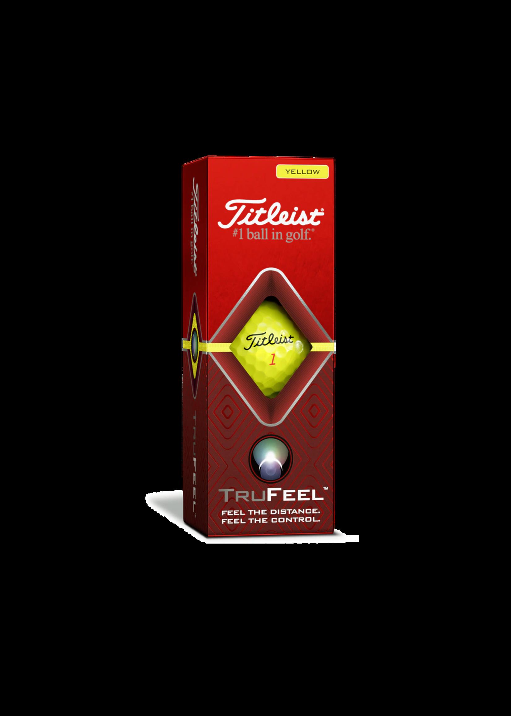 TITLEIST TRU FEEL GOLF BALLS (Sleeve)