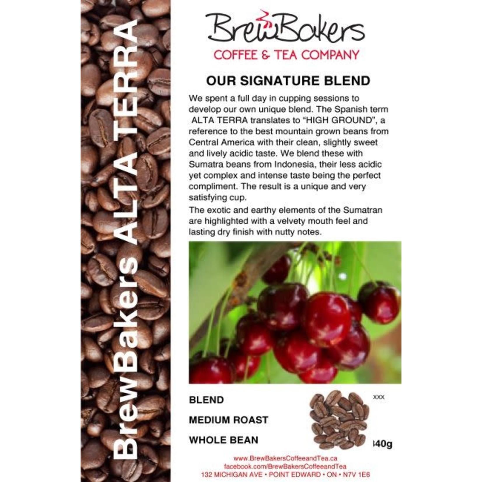 BrewBakers Coffee Bean Alta Terra 340g