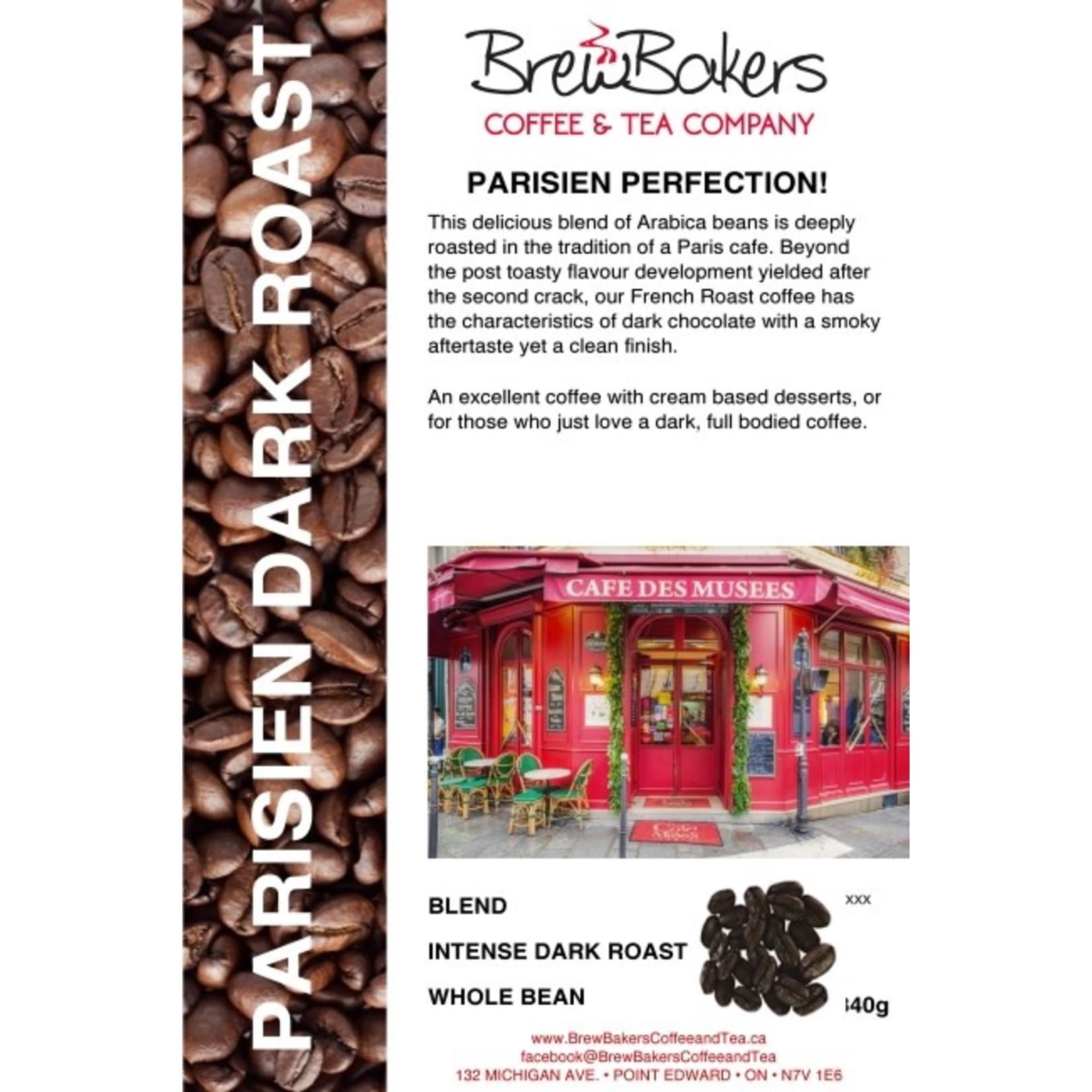 BrewBakers Coffee Bean Parisien Dark Roast 340g