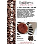 BrewBakers Coffee Bean Espresso Italiano 340g