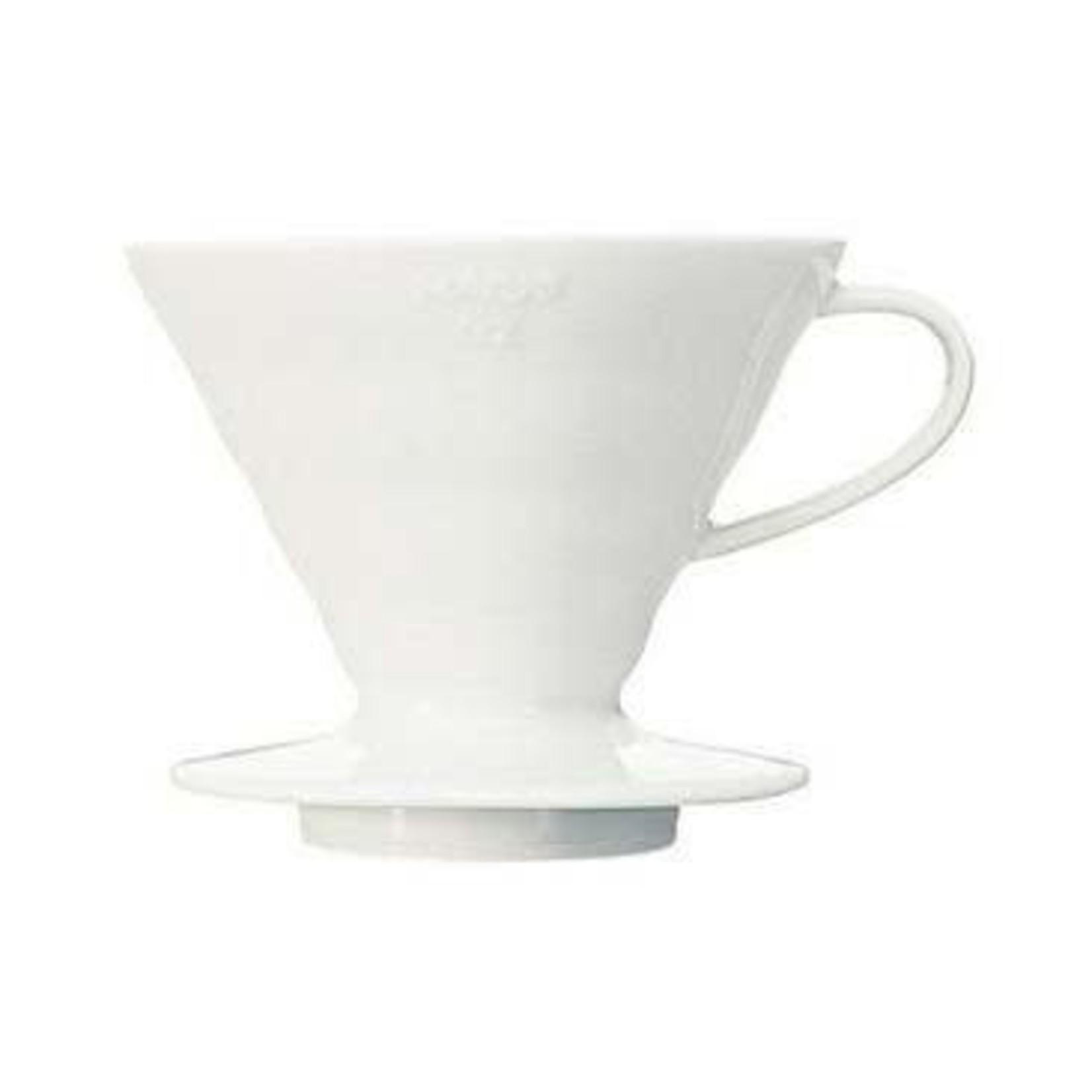 Hario Hario Ceramic Dripper White 02