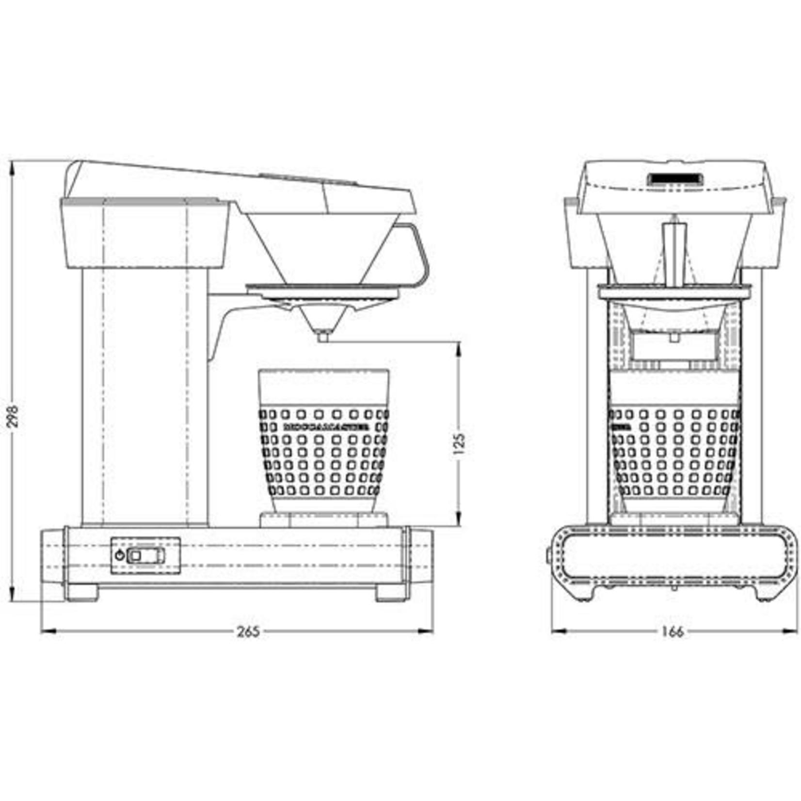 Technivorm Technivorm Cup-One Matte Black