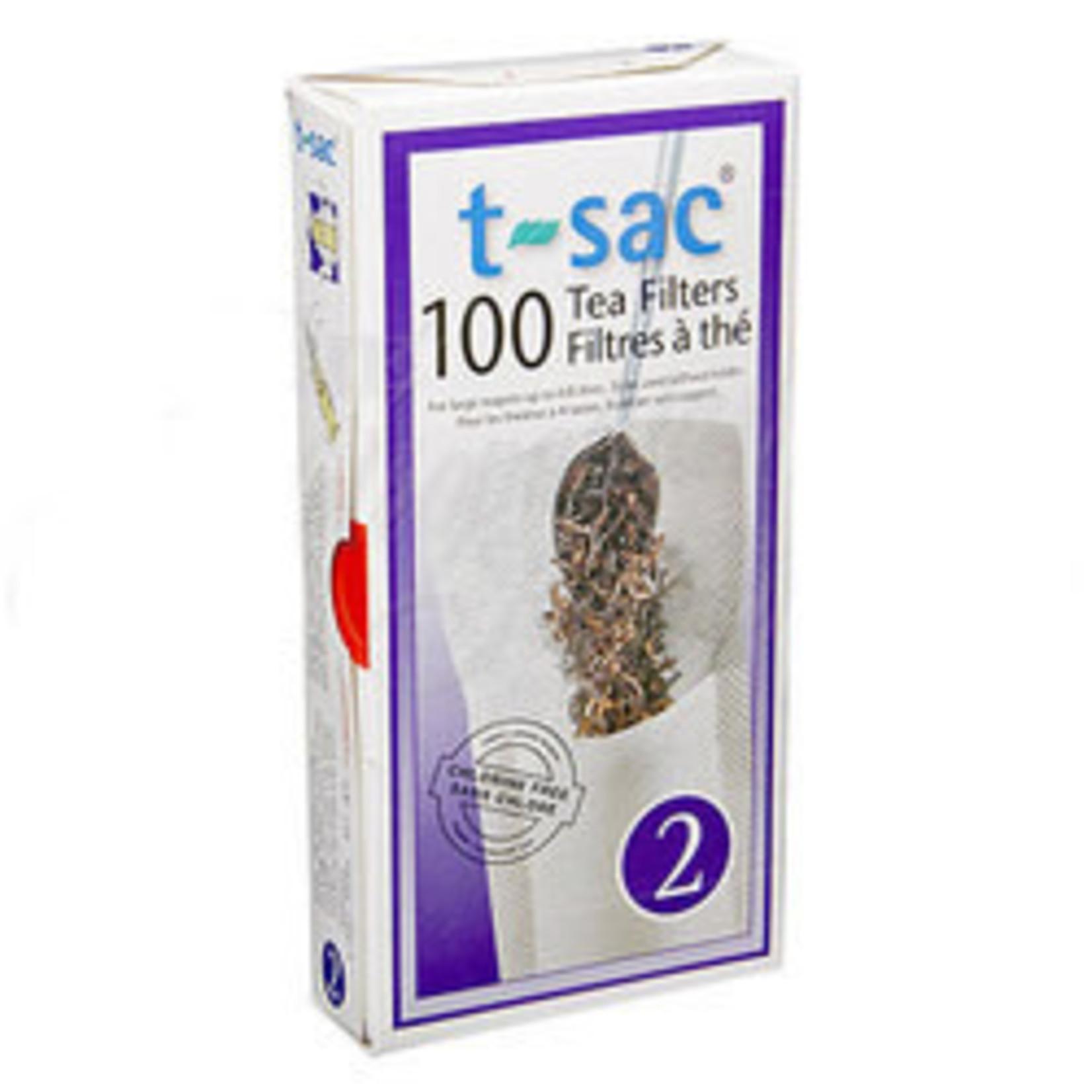 t-sac #2 Tea Filter 2-4 Cup 100ct