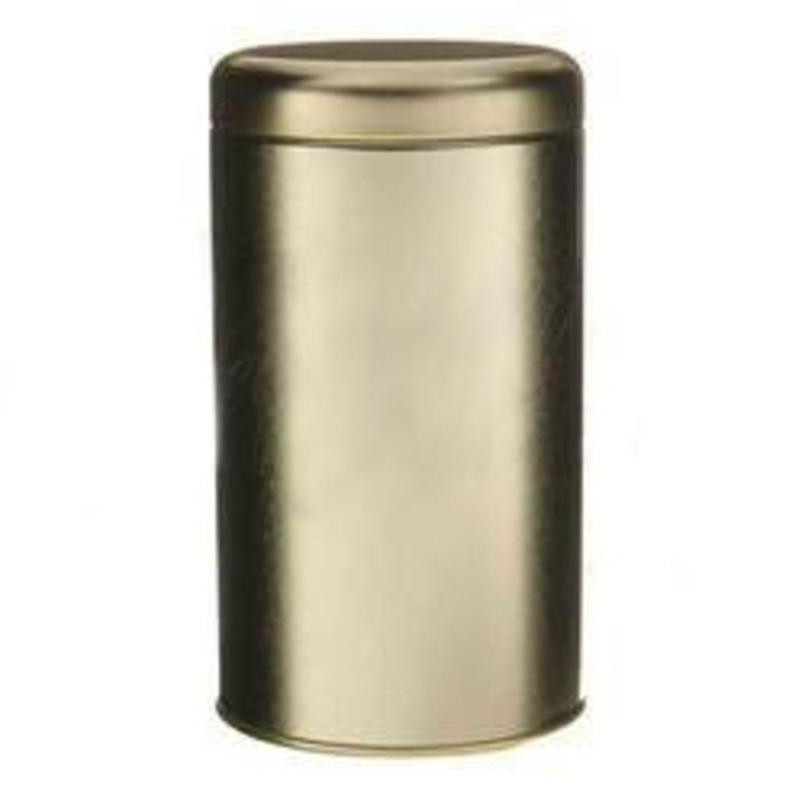 Metropolitan Tea Tea Tin Medium Gold- 100g/3.5oz