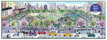Galison Cityscape by Michael Storrings 1000 piece panoramic puzzle