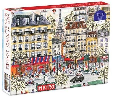 Galison Paris by Michael Storrings