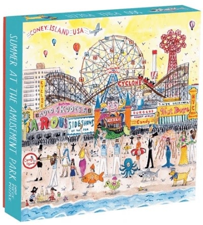 Galison Summer at The Amusement Park by Michael Storrings
