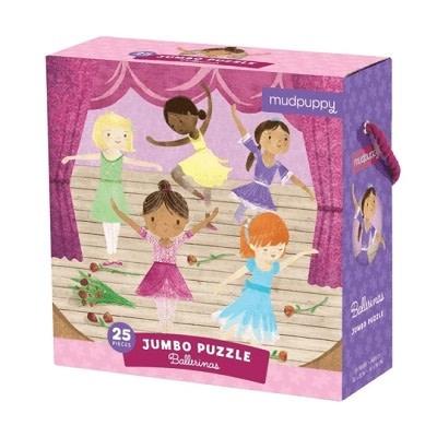 Mudpuppy mudpuppy 25 piece jumbo puzzle - Ballerinas