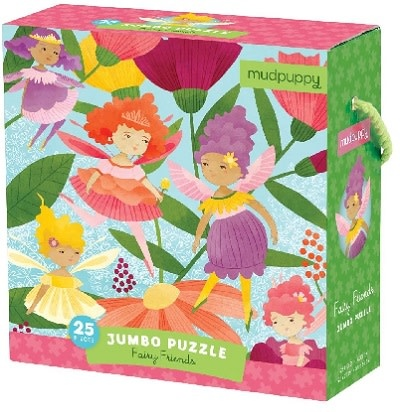 Mudpuppy Fairy Friends (jumbo puzzle)