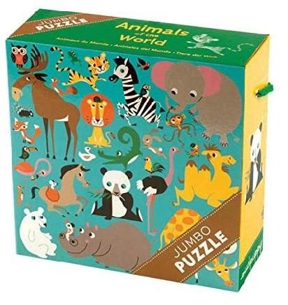 Mudpuppy mudpuppy 25 piece jumbo puzzle - Animals of the World