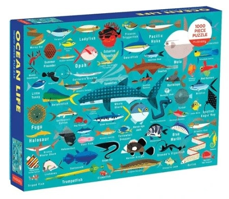Mudpuppy Ocean Life