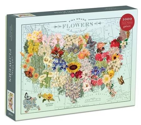 Galison USA State Flowers
