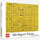 Chronicle Books Lego Minifigure Faces  1000 piece puzzle