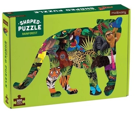 Mudpuppy Rainforest (shaped puzzle)