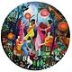 eeboo Moon Dance (500 pc round puzzle)