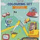 Tiger Tribe Adventures Coloring set 4+