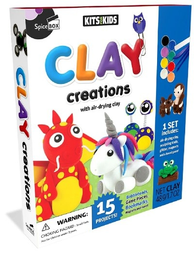 Spicebox Clay Creations 8+