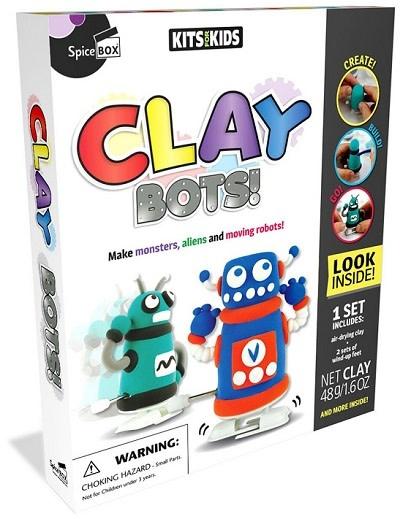 Spicebox Clay Bots! 8+