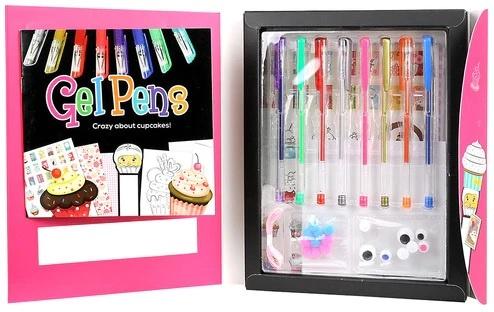 Spicebox Gel Pens 8+
