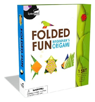 Spicebox Folded Fun Beginner's Origami 8+