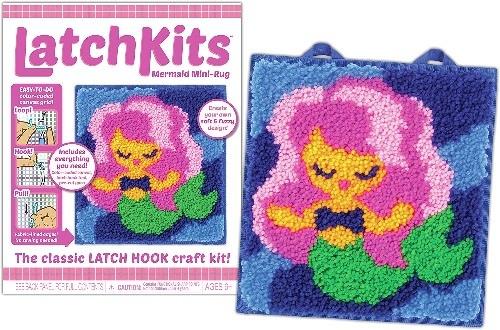 Kahootz LatchKits  Mermaid Mini-Rug kit 6+