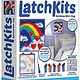 Kahootz LatchKits  Rainbow Mini-Rug kit 6+