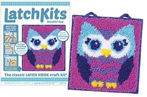 Kahootz Owl Mini-Rug kit 6+