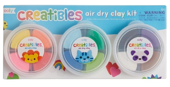 OOLY Creatibles Air Dry Clay Kit 6+