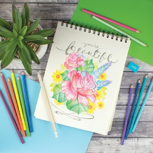 OOLY Sketch & Color colored pencil set 3+
