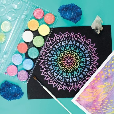 OOLY Chroma Blends Pearlescent Blends Watercolor set 6+