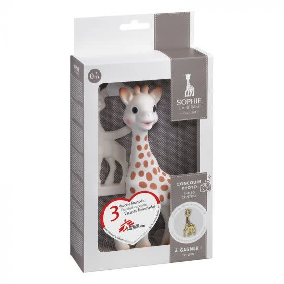 Vulli Sophie la Giraffe + teether 0m+