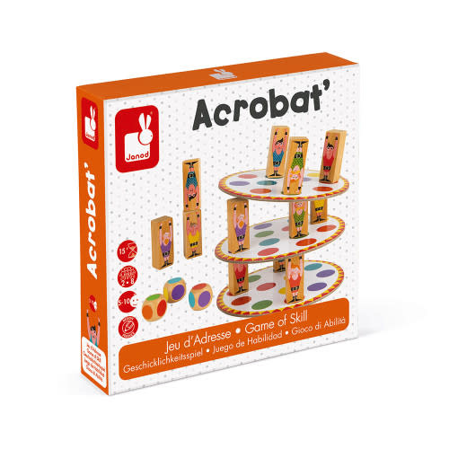 Janod Acrobat Game of Skill (recommended age 5-10)