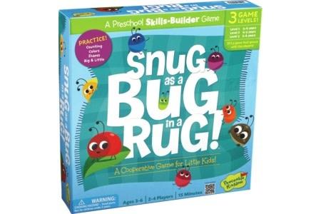 Peaceable Kingdom Snug as a Bug in a Rug 3+