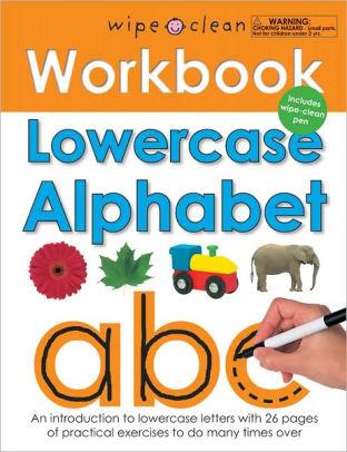 Priddy Books Lowercase Alphabet (3+)