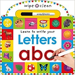 Priddy Books Learn To Write Your Letters (3+)