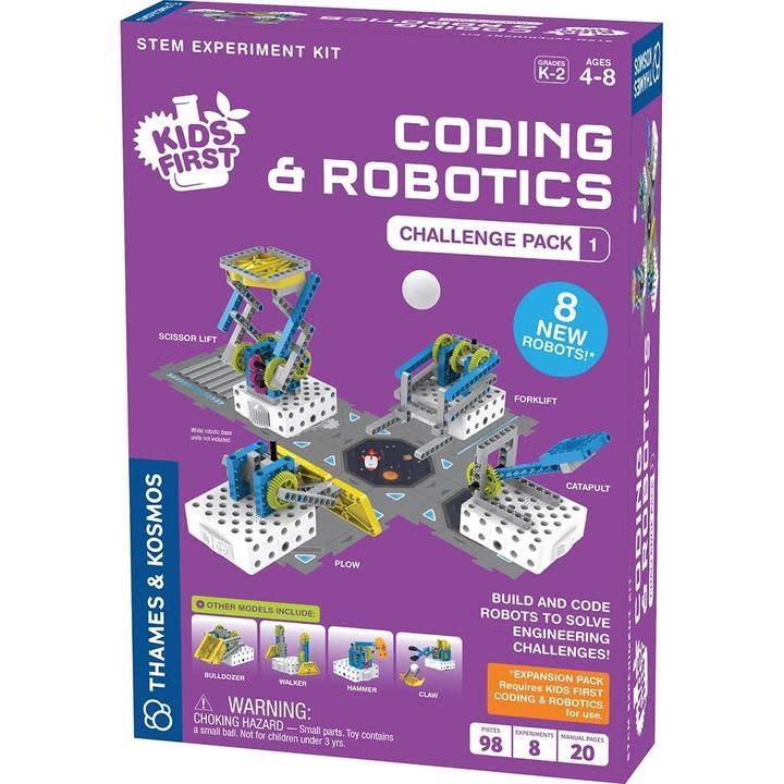 Thames & Kosmos Kids First Coding & Robotics - Challenge Pack 1 (ages 4-8)
