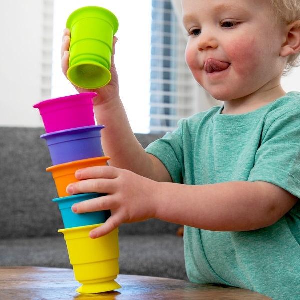 Fat Brain Toys Suction Kupz by Fat Brain Toys 12m+