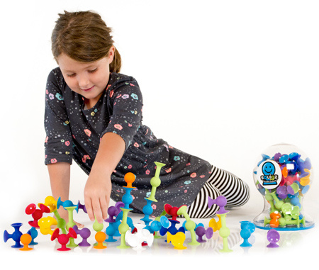 Fat Brain Toys squigz (24 pieces) by Fat Brain Toys 3+